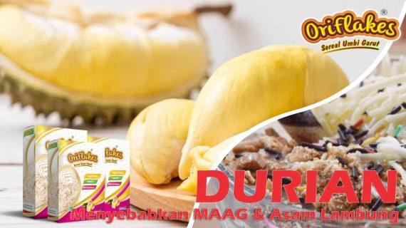 Durian Penyebab Asam Lambung Naik